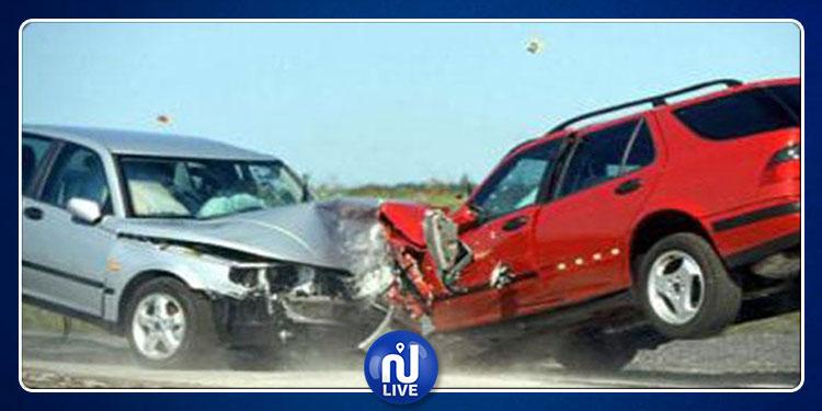 المنار: انقلاب سيارة تقودها امرأة  وإصابة صاحبتها بجروح خطيرة