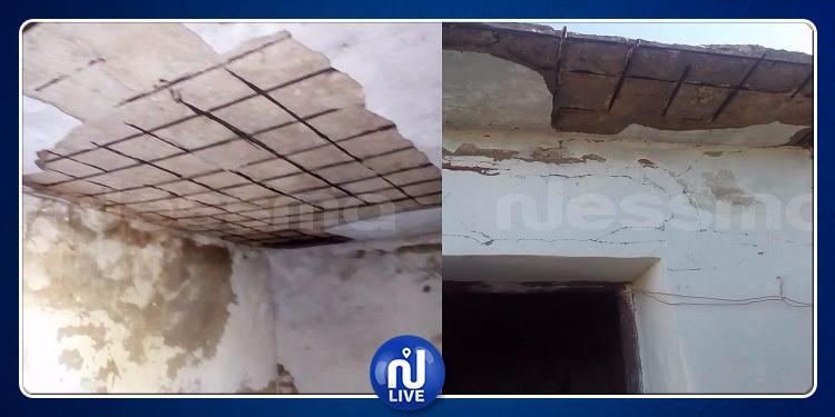 سبيبة: إصابة أم وابنتها نتيجة  انهيار جزء من سقف المنزل