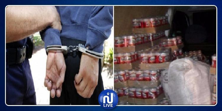 باردو: ايقاف 4 أشخاص مفتش عنهم وحجز 600 قارورة خمر