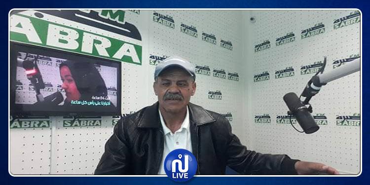 سيدي بوزيد: مراسل 'صبرة أف أم يتعرض للطعن بسكين (صور)