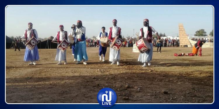 سليانة: أجواء احتفالية في افتتاح المهرجان المغاربي للفروسية بسيدي بورويس