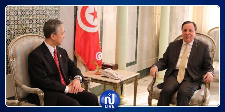 وزير الشؤون الخارجية يستقبل سفير الصين بتونس