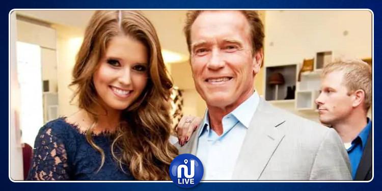 ابنة آرنولد شوارزنيجر تتزوج من ممثل عالمي وسيم ! (صور)