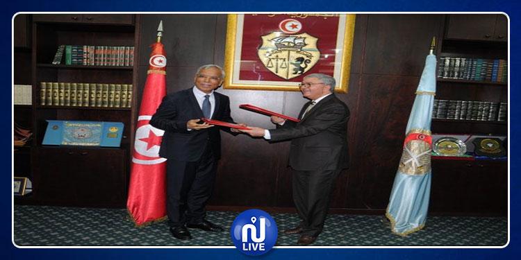 توقيع اتفاقية تعاون بين المؤسسة العسكرية والهيئة العليا للرقابة الإدارية والمالية