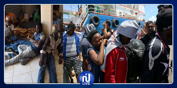 جرجيس: المهاجرون العالقون بالبحر يدخلون الميناء لترحيلهم نحو بلدانهم
