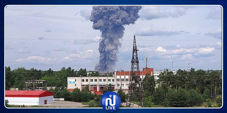 روسيا: ارتفاع عدد جرحى انفجارات مصنع الديناميت