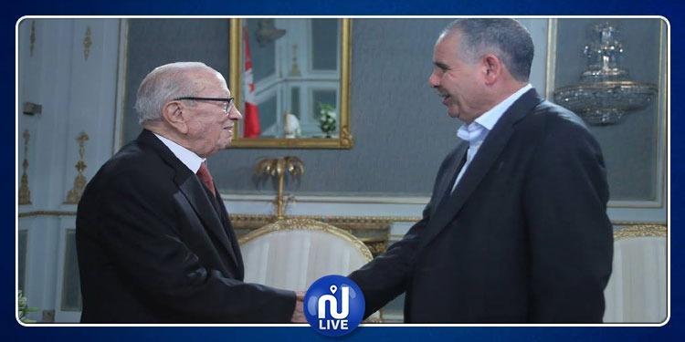 نور الدين الطبوبي يزور رئيس الجمهورية ويطمئن على صحته