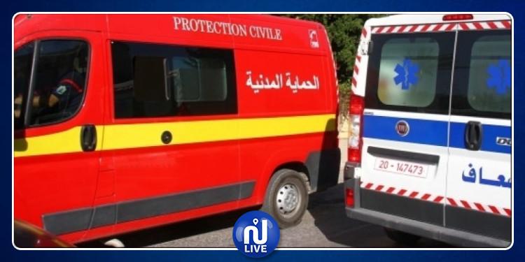 طبلبة : عملية بركاج لسيارة إسعاف الحماية المدنية