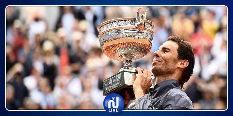 Roland-Garros: Nadal sacré une 12e fois en 12 finales