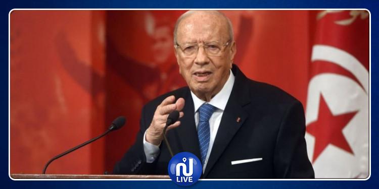 رئيس الجمهورية يستقبل  يوسف الشاهد وحافظ قايد السبسي