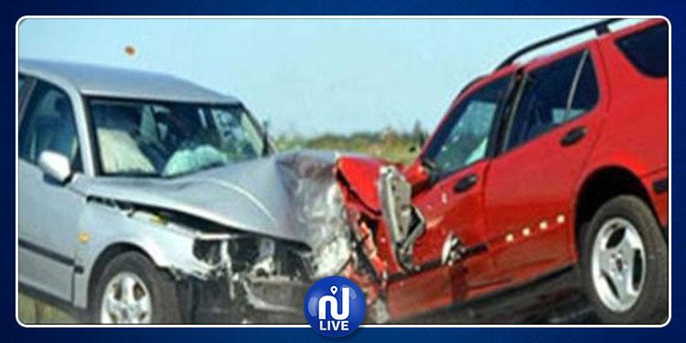 جرجيس: وفاة شخصين وإصابة 3 أخرين في حادث اصطدام سيارتين