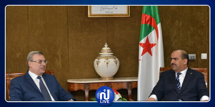 رئيس المجلس الشعبي الوطني يستقبل السفير التونسي بالجزائر