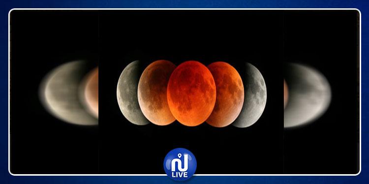 غدا: خسوف جزئي للقمر ومشاهدته ممكنة في كامل أنحاء تونس