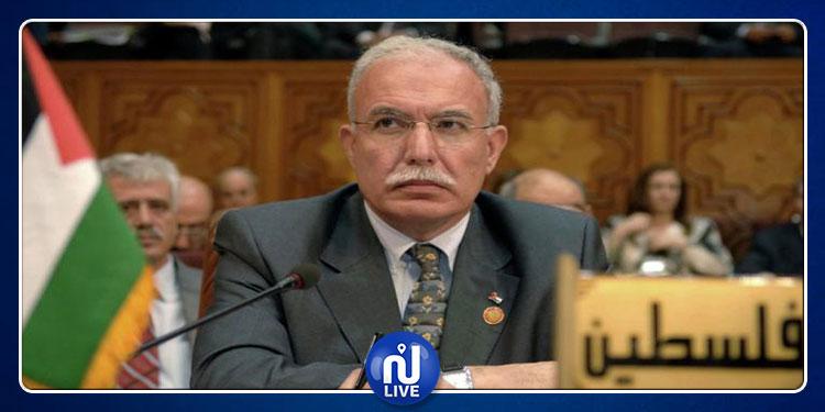 رياض المالكي: 'القرارات الأمريكية الأخيرة تشجع الاستيطان الإسرائيلي'