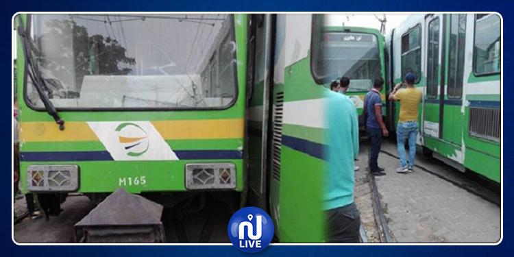 الحالة الصحية للمصابين في حادث اصطدام المترو رقم 5