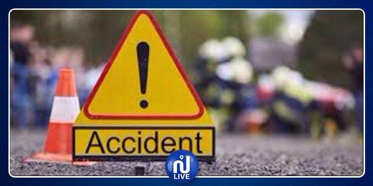 القصرين: اصطدام بين سيارتين يخلف 8 اصابات