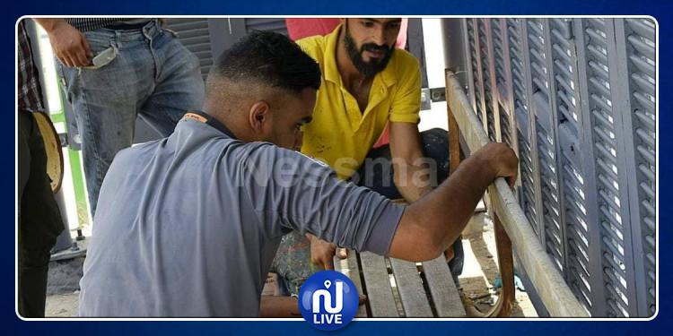 تطاوين : شباب يعيد تهيئة محطة حافلات مهجورة (صور)