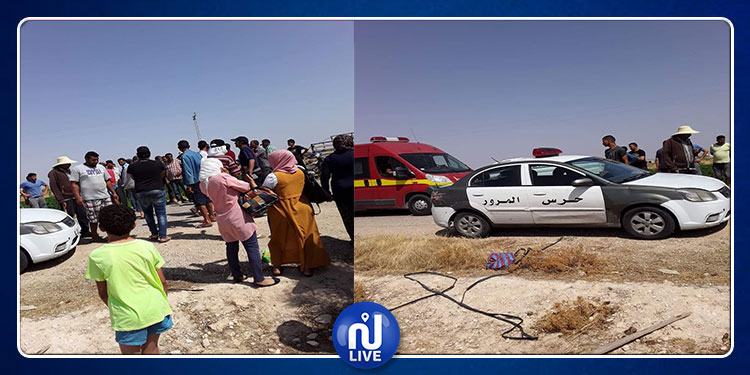 سيدي بوزيد: إصابة أكثر من 10 عاملات فلاحة في حادث مرور (صور)