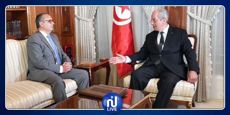 محمد الناصر يلتقي وزير العدل لإتمام إجراءات العفو الخاص بمناسبة عيد الجمهورية