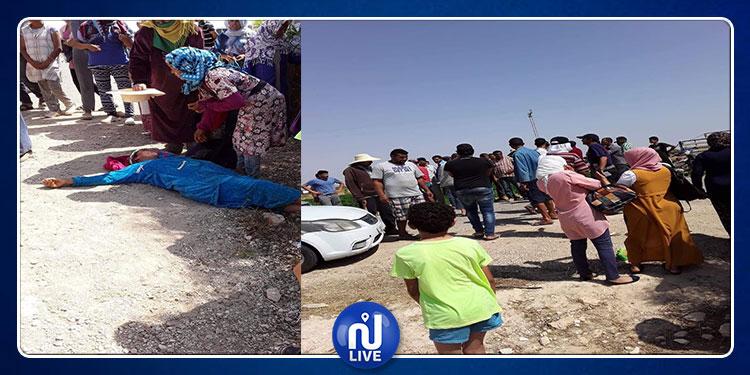 نسوة وفتيات: ارتفاع حصيلة جرحى حادث سيدي بوزيد إلى 12 عاملة فلاحية