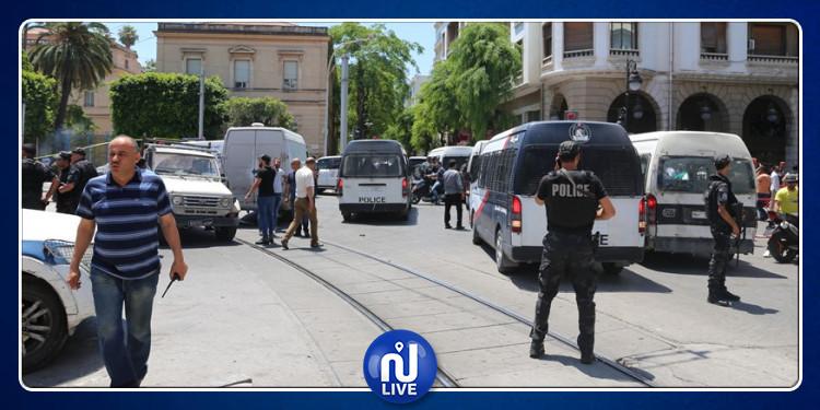 وزير الداخلية يؤكد وجود علاقة بين عمليتي نهج شارل ديغول والقرجاني الارهابيتين