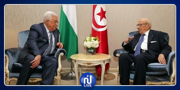 فلسطين تعلن الحداد على وفاة الباجي قايد السبسي