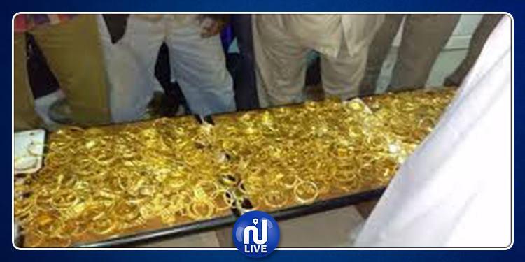 حجز كميّة من الذهب والفضة داخل سيارة في بنزرت