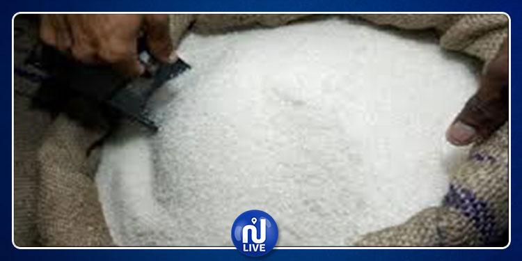 المرناقية: حجز 11 طنا من السكر المدعم
