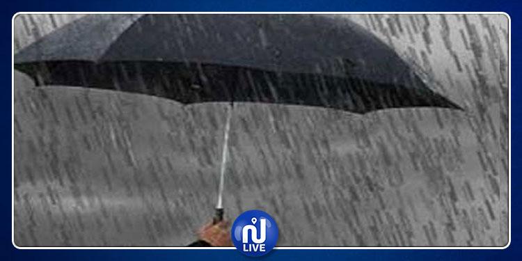 الليلة وغدا:  الطقس ملائم لنزول أمطار بكميات غزيرة