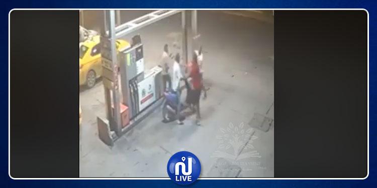 سيدي حسين: عملية سطو بمحطة لبيع البنزين باستعمال سلاح أبيض (فيديو)
