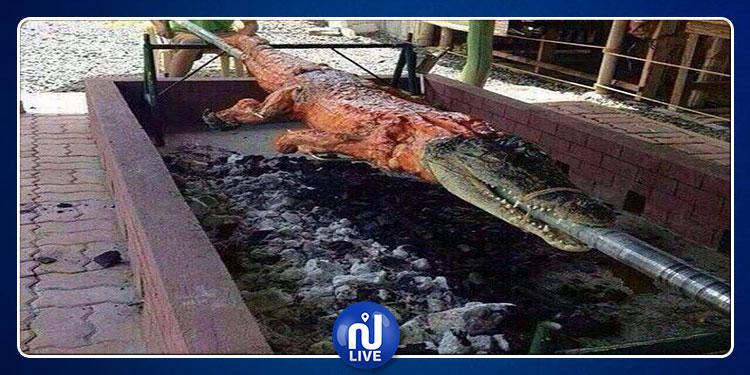 السعودية: أكل لحم التمساح حرام