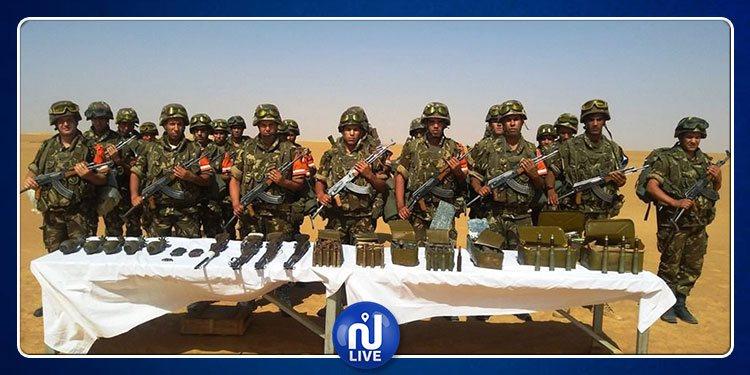 الجيش الجزائري يحجز قنابل وقذائف
