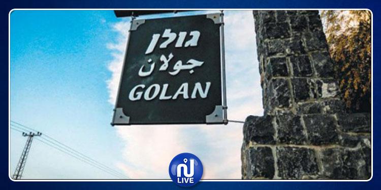 الكيان الصهيوني يغلق سماء هضبة الجولان السورية