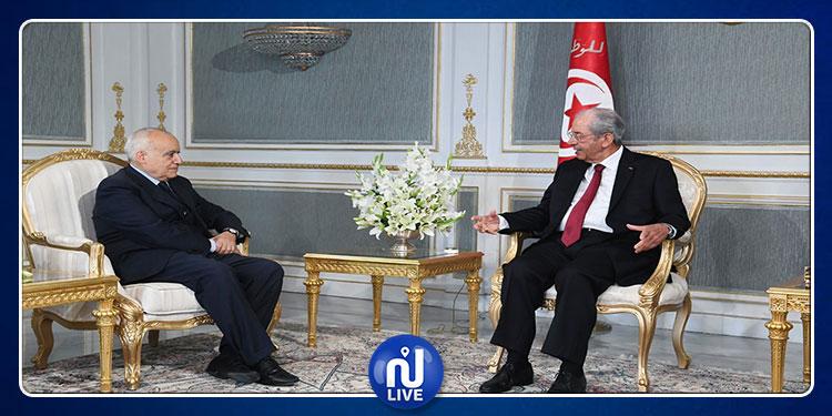 رئيس الجمهورية يستقبل غسان سلامة