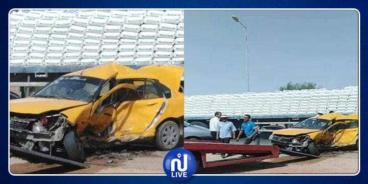 مدنين: وفاة سائق تاكسي وإصابة اثنين أخرين في حادث مرور