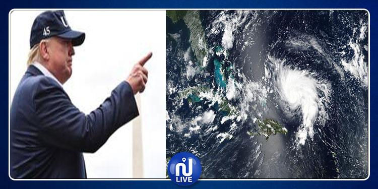 إعصار دوريان: ترامب يطالب الأرصاد الجوية بتغيير تنبؤات الطقس