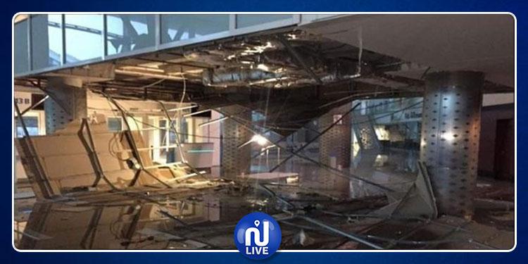 سوسة: شركة ''تاف تونس'' تنفي سقوط جزء من سقف المطار جراء تهاطل الامطار
