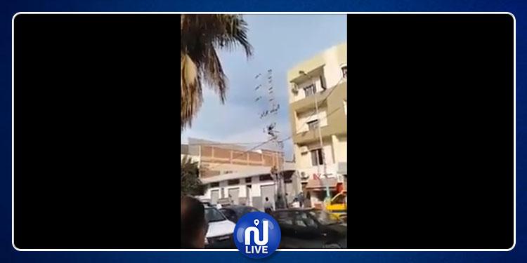 المنستير: انتحار شاب تسلق عمودا كهربائيا