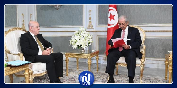 محمد الناصر يستقبل العباسي  لاستعراض نتائج الزيارة الأخيرة لوفد من الـ'غافي' (فيديو)