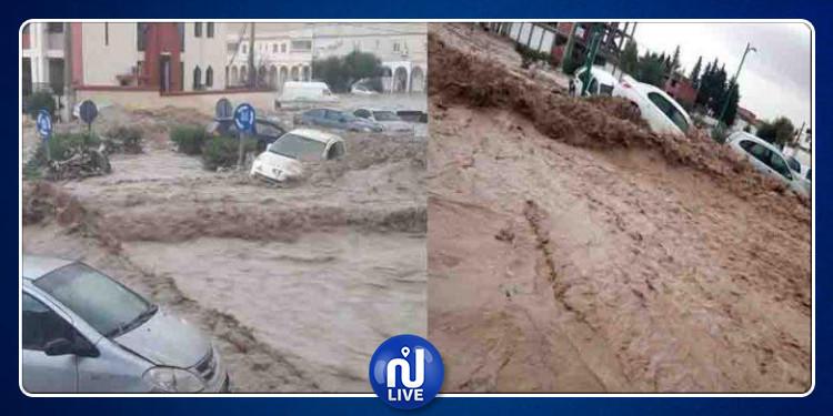 أمطار طوفانية بمختلف ولايات الجزائر (فيديو)