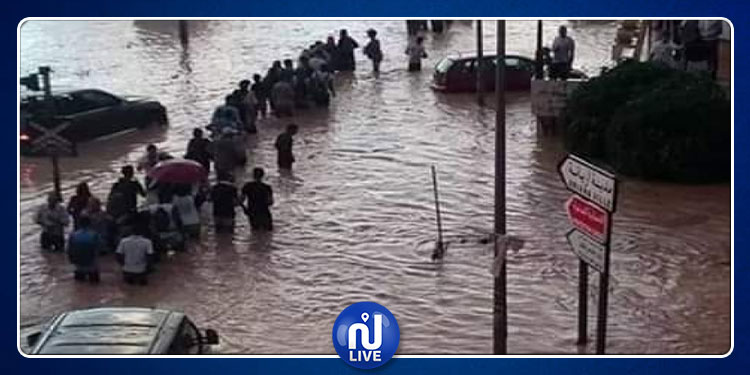 حي المستقبل: تضرر أكثر من 180 منزلا وعائلة  جراء الفيضانات الأخيرة بأريانة