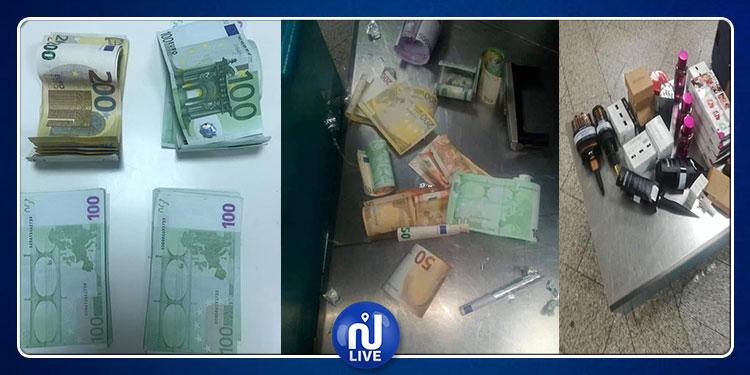 الدَيوانة التونسية: إحباط 7 محاولات تهريب مبالغ مالية من العملة الصعبة بمطار قرطاج