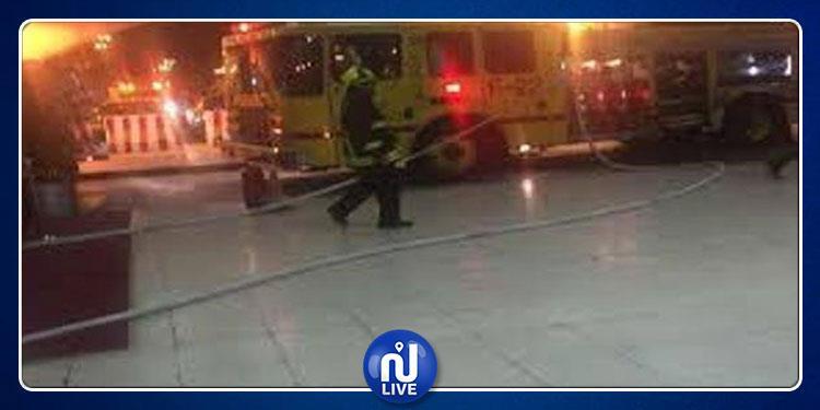 حريق بمطار القاهرة الدولي وتسجيل حالات اختناق