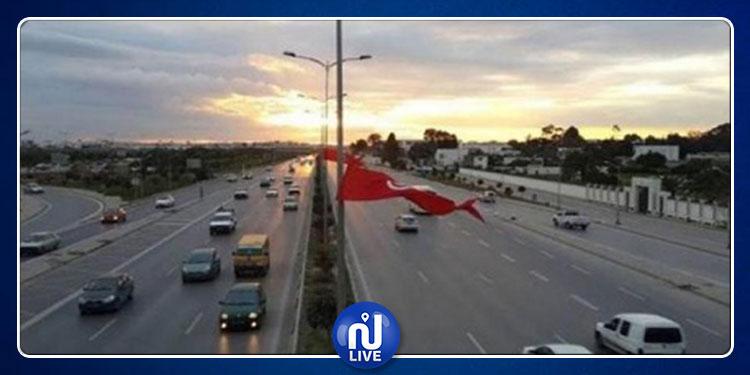 ضفاف بحيرة تونس الشمالية: تحويل وقتي لحركة المرور بشارع عبد العزيز كامل