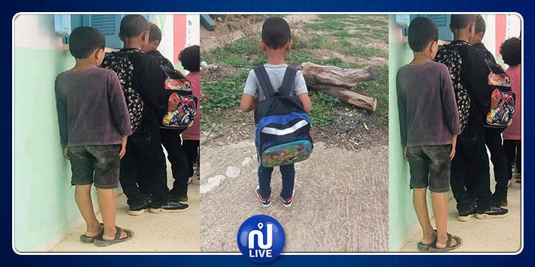 بين الأمس واليوم: فرحة طفل الطويرف لاتوصف بعد منحه الحق في العيش كأترابه (صور)