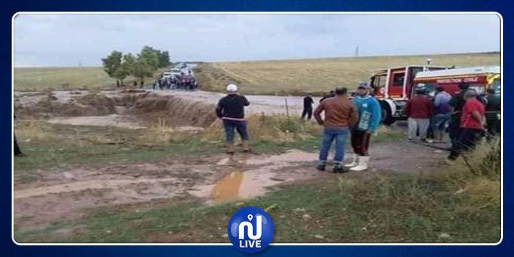مقتل شخص وفقدان زوجته جراء الفيضانات في الجزائر