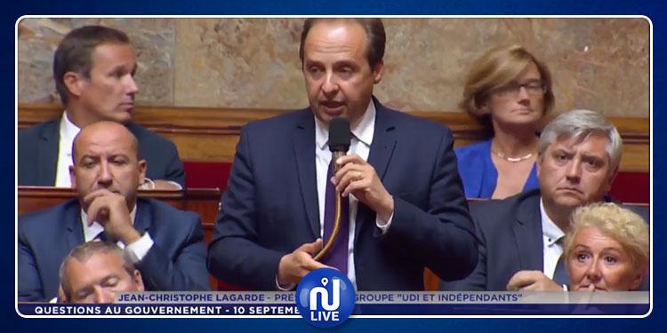 النائب جان كريستوف لاغارد يتحدث عن نبيل القروي ويطالب بمساءلة رئيس الوزراء الفرنسي أمام البرلمان