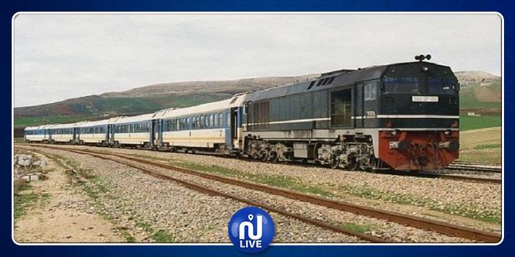 Intempéries: La ligne Tunis-Kalâa Khasba suspendue