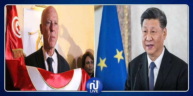 رئيس الصين يهنئ رئيس الجمهورية المنتخب قيس سعيد