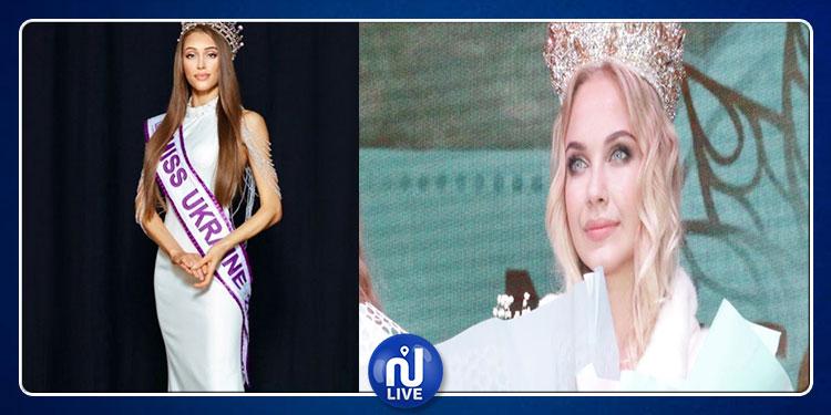 ملكة جمال أوكرانيا ترفض التحدث للتلفزيون بلغة بلادها (صور)